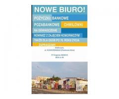 Nowe biuro kredytowe w Wałbrzychu! Piaskowa Góra. Także dla osób zadłużonych.