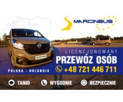 Codzienne wyjazdy z marcinbus Polska Holandia Polska