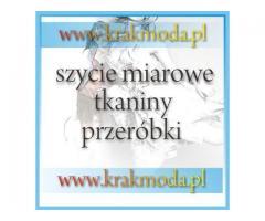 Kraków pracownia krawiectwa damskiego