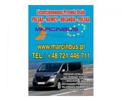 biuro marcinbus Codzienne wyjazdy tylko Polska Holandia Polska